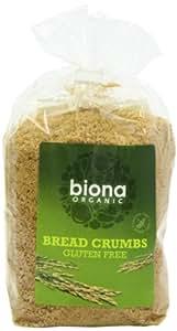 Biona Organic Gluten Free Breadcrumbs 500 g (Pack of 3)