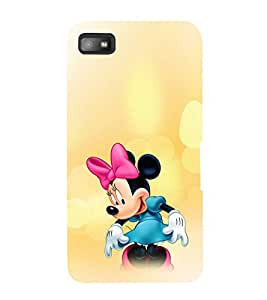 EPICCASE Minnie Rays Mobile Back Case Cover For BlackBerry Z10 (Designer Case)
