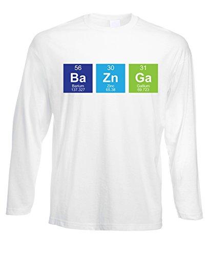 Tshirt a maniche lunghe Ba Zn Ga - Sheldon- serie tv - in cotone by Fashwork