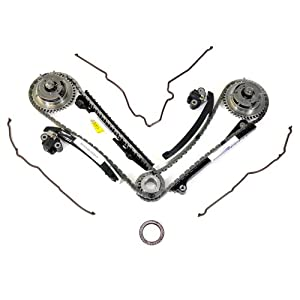 Ford 5.4L 3V Camshaft Drive Phaser Repair Kit - Phaser Sprockets, Tensioners, Guides, Chains Kit