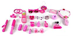 Vogue Girl Pretend Play Toy Fashion Beauty Set w/ Cell Phone, Sunglasses, Jewelry, Assorted Hair and