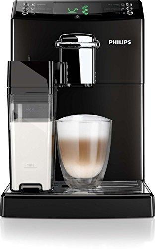 Philips HD8847/01 4000 Serie Kaffeevollautomat, CoffeeSwitch, integrierte Milchkaraffe, schwarz thumbnail