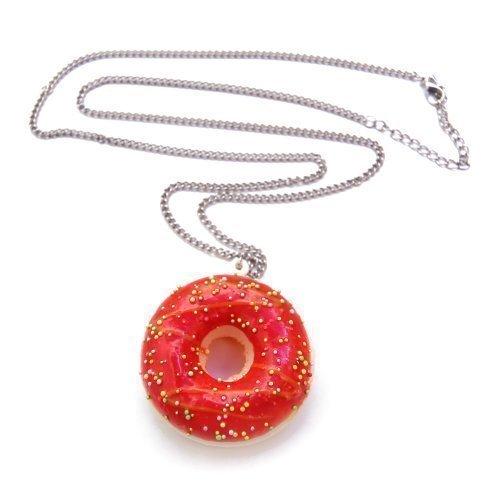 donut-de-glaseado-esmalte-collar-aprox-70-cm-larga-cadena-rosquilla-colgante-rojo-fresa-sonido-y-per