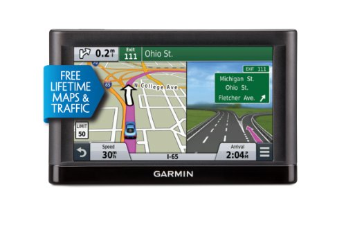 Garmin nüvi 66LMT GPS Navigator System with Spoken Turn-By-Turn Directions, Preloaded Maps and Speed Limit Displays (USA and Canada)