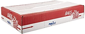 Flexsol HDPE Heavy Weight Waste Can Liner, Star Seal, Clear