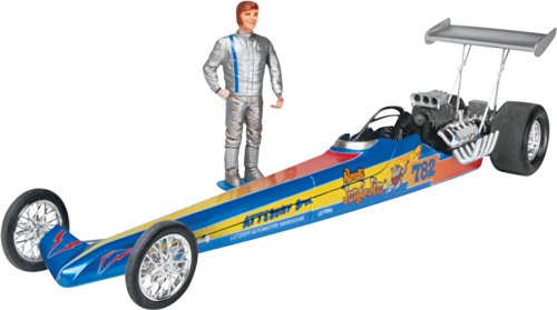 Revell Jungle Jim Rail Dragster Plastic Model Kit (Dragster Model Kits compare prices)