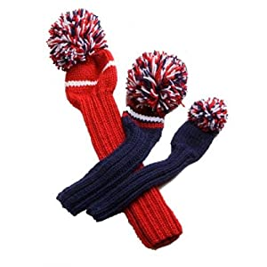 Buy Jan Craig Hand-Knit Headcovers - Set of 3: Ryder Cup by Jan Craig