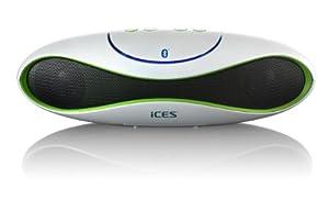 Ibt-2 Tragbarer Lautsprecher mit Bluetooth und Kartenslot für Mikro-SD-Karten, 2 eingebaute Lautsprecher, eingebautes Mikrofon, MP3, inkl. USB Kabel