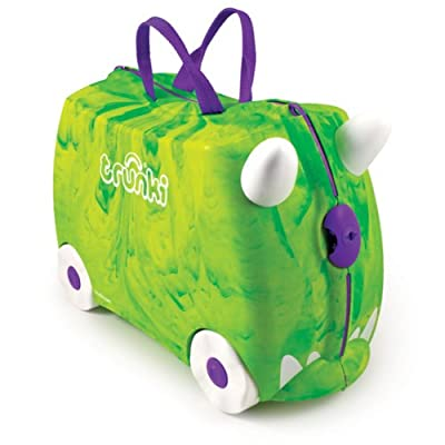 Trunki Trunkisaurus Rex Ride-on Suitcase (Green)