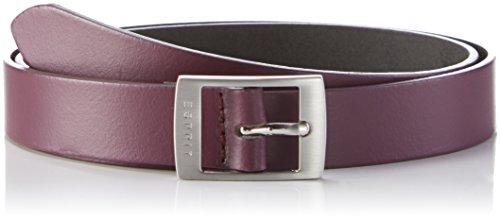 ESPRIT 106EA1S003, Cintura Donna, Rosso (Bordeaux Red), 90 cm