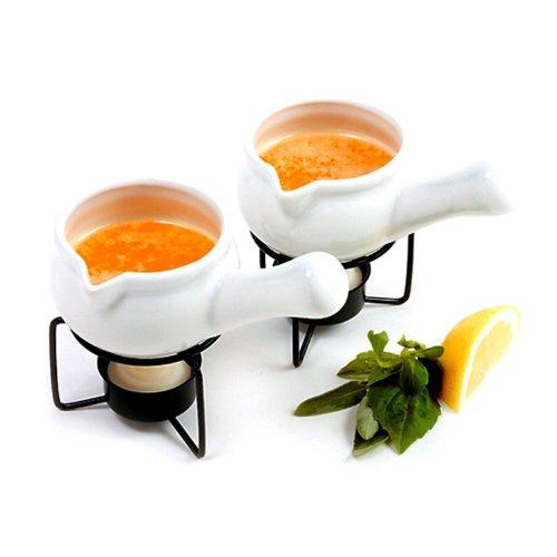 Norpro Ceramic Butter Warmers, Set of 2