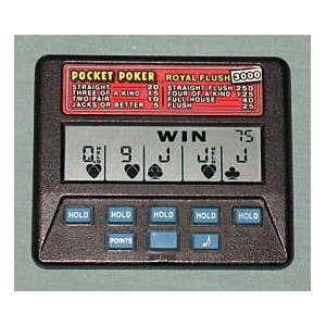 handheld pocket poker games