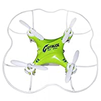 DLAND New Design GPTOYS F8 with protective cover 4 Channel 6 Axis 2.4G with 3D 360 Degree Rotating and Mini Toy Quadcopter / Helicopter Especially for Children and Beginners(Green)