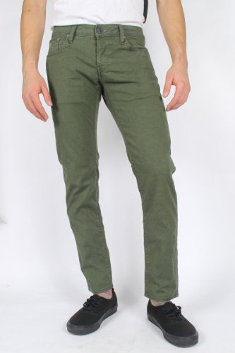 G-Star Raw - Mens 3301 Low Tapered Jeans in Kap Green, Size: 30W x 32L, Color: Kap Green