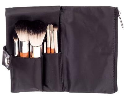 Danielle 7-Piece Make-up Brush Set in Black Pouch