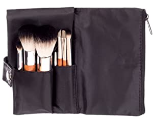 Danielle 7-Piece Make-up Brush Set in Black Pouch
