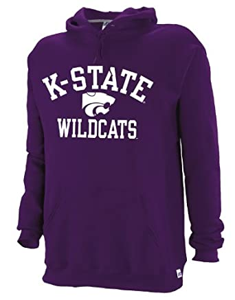Buy NCAA Kansas State Wildcats Mens Dri-Power Fleece Pullover Hood by Russell Athletic
