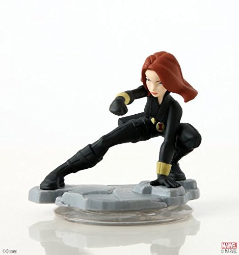 Disney INFINITY: Marvel Super Heroes (2.0 Edition) Black Widow Figure - No Retail Packaging
