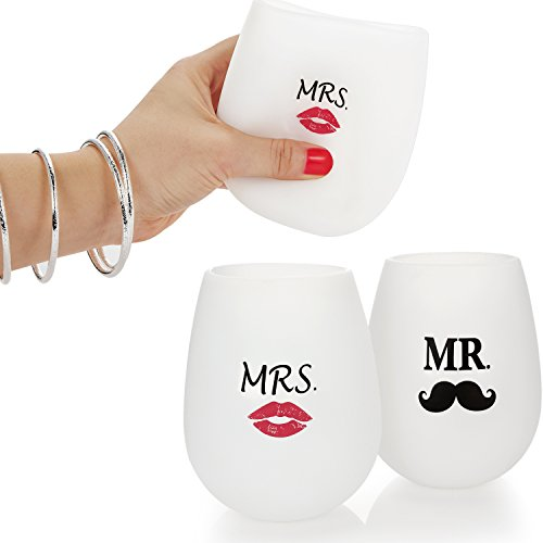 Goodmanns-Mr-and-Mrs-Stemless-Silicone-Wine-Glass-Set