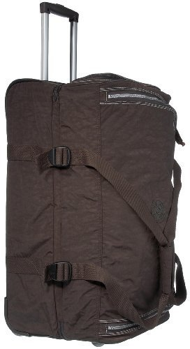 Kipling Women's Teagan Medium Wheeled Duffle K13367740 Expresso Brown