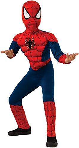 Rubie's Costume Marvel Spider-Man Deluxe Fiber Optic Costume, Medium