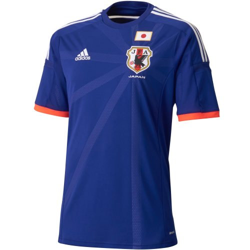 (Adidas) adidas Japan President Home Replica Jersey S/S AD654 G85287 Japan blue / white / pop J/M