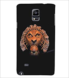 PRINTSWAG TIGER FACE Designer Back Cover Case for SAMSUNG GALAXY NOTE EDGE
