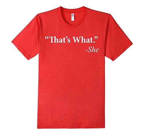 Men's Asylum That's what she said t-shirt Large Red