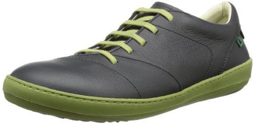 El Naturalista - Sneaker N211 GRAIN BLACK-GREEN / METEO Uomo, Nero (Schwarz (Black-Green)), 43