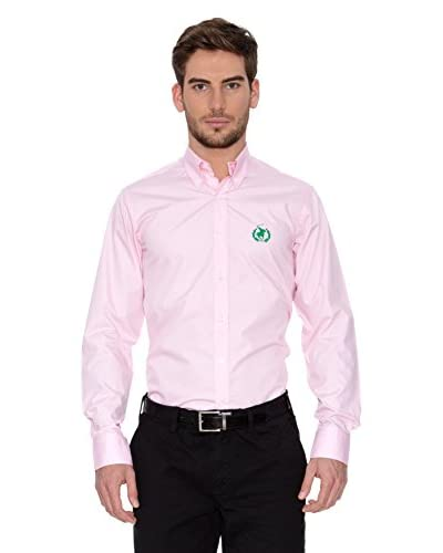 Polo Club Camisa Hombre Fitted Rosa