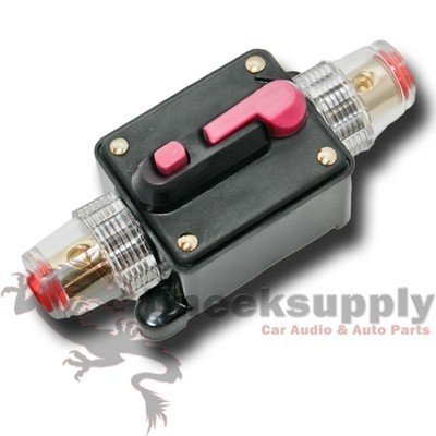 12V DC Car Audio Inline Circuit Breaker Fuse for System Protection 40 AMP 40A