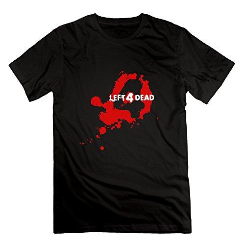 ZhiXiong Mens Short Sleeve Left 4 Dead 2 Shirt (Left 4 Dead 2 Download compare prices)