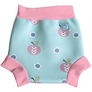 Splash About Kids Reusable Swim Happy Nappy - Apple Daisy, Small, 0-4 Months