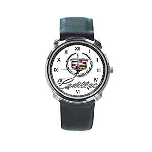 CADILLAC Logo Round Metal Wrist Watch for Unisex men women Fashion Hot Gift NEW