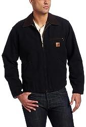 Carhartt Men's Blanket Lined Sandstone Detroit Jacket J97