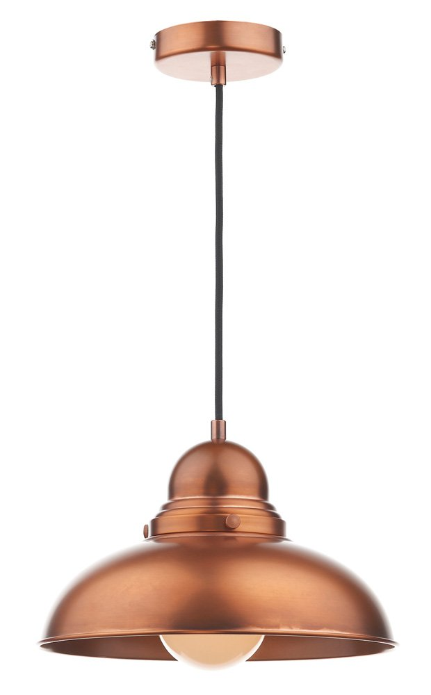 Dynamo 1 Light Bowl Pendant Finish  Antique Copper       review and more news