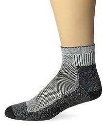 Wigwam Ultimax Quarter Cool-Lite Hiker Socks, Black, Large
