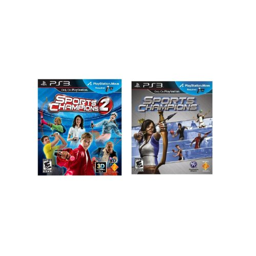 Sports Champions 1 PLUS Sports Champions 2 Game Only Bundle (PS3) (Ps3 Sports Champions 2 compare prices)