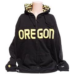 NCAA Oregon Ducks Reversible Hoodie by Donegal Bay