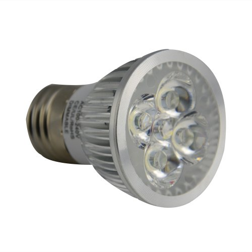 Jambo Dimmable 6W Warm White 3200K Led Spot Light Lamp Bulb 100-240V 500Lm Replacement 40W Halogen Equivalent No Need Dimmer E27