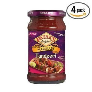 Pataks Tandoori Paste 11Oz. (Pack of 4) from Patak's