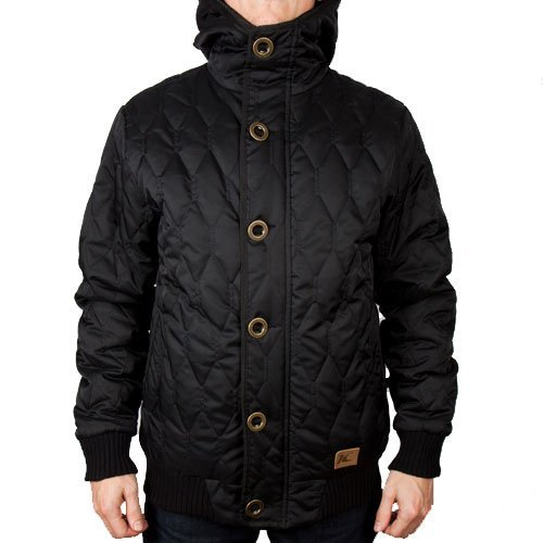 King Apparel Krest Mens Jacket Black : Small