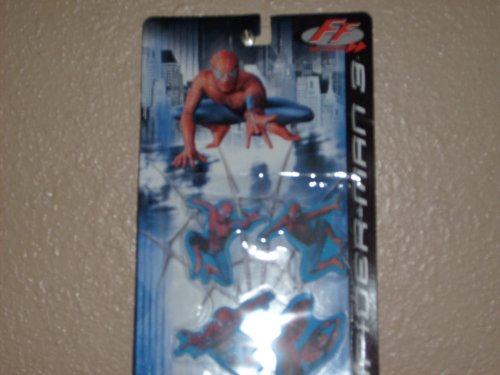 Picture of Fast Forward Spider Man Action Figure Erasers (B000P24414) (Fast Forward Action Figures)