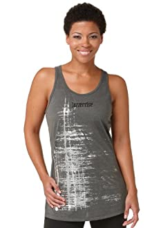 Distressed Foil Print Tank - KOS USA