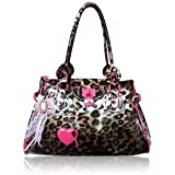 Exoticglitter Anna Smith Leopard Print Hand Shoulder Bag 110