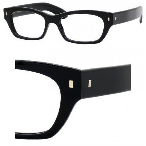Yves Saint Laurent Eyeglasses Yves Saint Laurent 6333 0807 Black