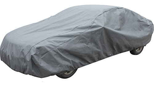 Leader Accessories Xtreme Guard Waterproof Breathable Outdoor Indoor Car Cover(cars up to 16'8