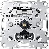 Merten MEG5131-0000 Drehdimmer-Einsatz für ohmsche Last mit Druck-Ausschalter, 40-400 W - Best Reviews Guide