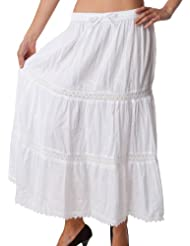 long white skirts