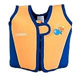 Swimbest Swim Jacket / Swim Vest - 18 months - 6 years - Various Colours (Orange Squash, 18 months - 3 years approx)